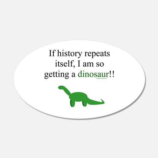 If History Repeats Wall Sticker