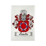 Rosetta Family Crest Rectangle Magnet (100 pack)