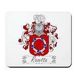 Rosetta Family Crest Mousepad