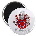 Rosetta Family Crest Magnet