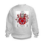 Rosetta Family Crest Kids Sweatshirt