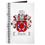 Rosetta Family Crest Journal