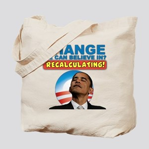 Recalculating Obama Tote Bag