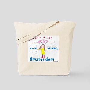 Rains and Snows Tote Bag