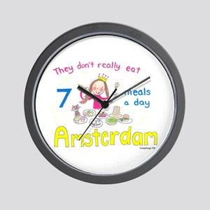 7 meals a day! Wall Clock