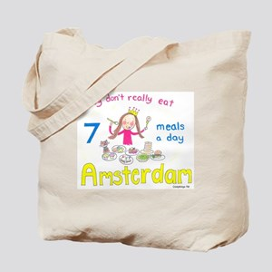 7 meals a day! Tote Bag