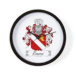 Ronzoni Coat of Arms Wall Clock