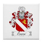 Ronzoni Coat of Arms Tile Coaster