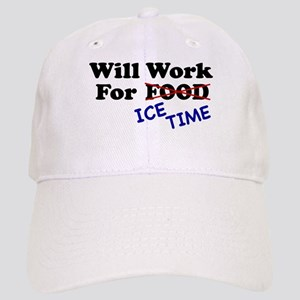 Will Work For Ice Time Cap