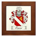 Ronzoni Coat of Arms Framed Tile