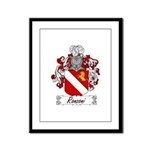 Ronzoni Coat of Arms Framed Panel Print