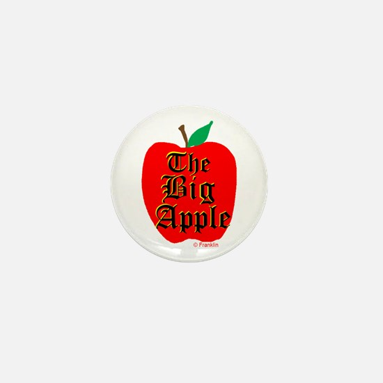THE BIG APPLE Mini Button
