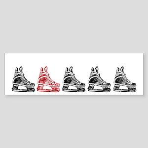 Red Skate Sticker (Bumper)