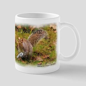 Krazy Irish Protect Your Nuts Mug