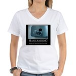 Infection Control Humor 01 Women's V-Neck T-Shirt