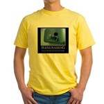 Infection Control Humor 01 Yellow T-Shirt