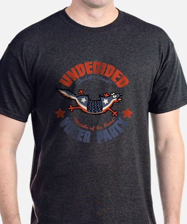 Undecided Voter Mascot T-Shirt