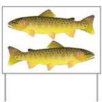 Apache trout Yard Sign