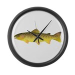 Apache trout Large Wall Clock