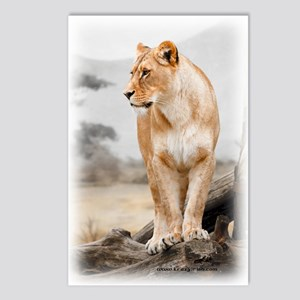 Krazy Irish Lioness Postcards (Package of 8)