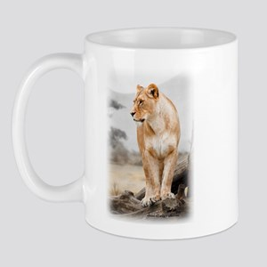 Krazy Irish Lioness Mug