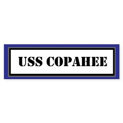 USS Copahee Sticker (Bumper)