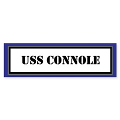 USS Connole Sticker (Bumper)