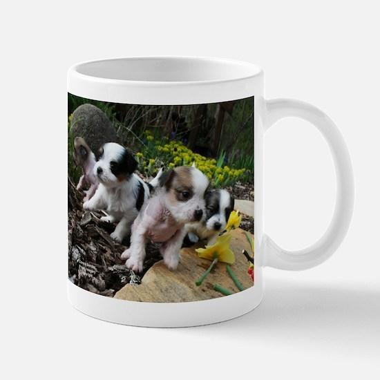 Crested Puppies Mug