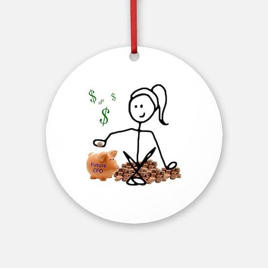 Future CFO Ornament (Round)