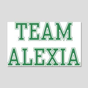 TEAM ALEXIA 22x14 Wall Peel