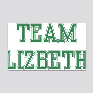 TEAM LIZBETH 22x14 Wall Peel