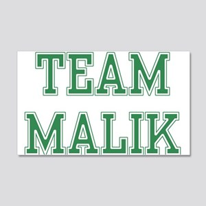 TEAM MALIK 22x14 Wall Peel