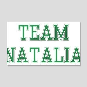 TEAM NATALIA 22x14 Wall Peel