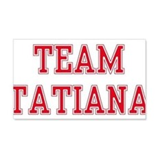 TEAM TATIANA 22x14 Wall Peel