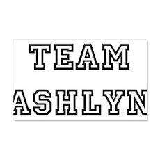 TEAM ASHLYN T-SHIRTS 22x14 Wall Peel