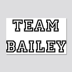 TEAM BAILEY 22x14 Wall Peel