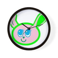 Bunnie! Wall Clock