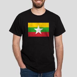 Burma Flag Dark T-Shirt