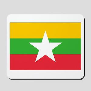 Burma Flag Mousepad
