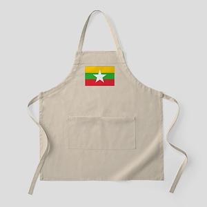 Burma Flag Apron