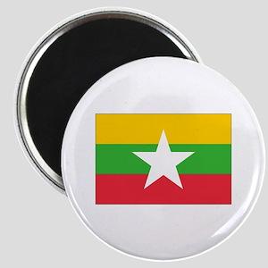 Burma Flag Magnet