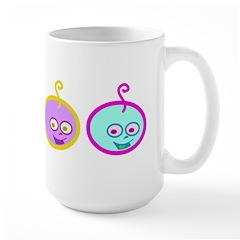Happie Baby Large Mug