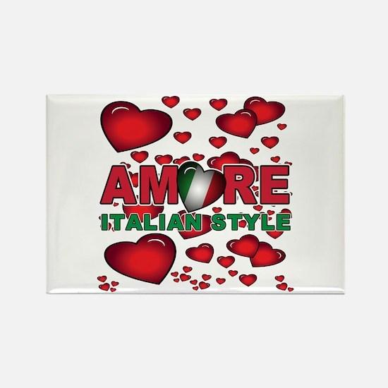 Love Italian Style Rectangle Magnet