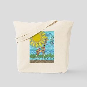 African Rainbow Tote Bag