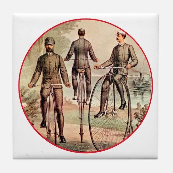 The Wheelmen Tile Coaster