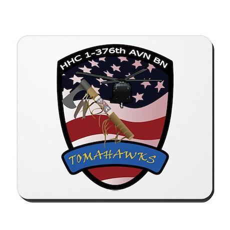 HHC 1-376th AVN BN Tomahawks Mousepad