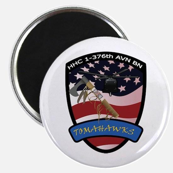 HHC 1-376th AVN BN Tomahawks Magnet