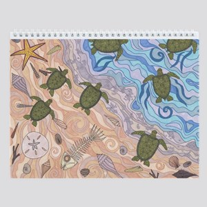 To The Sea Wall Calendar