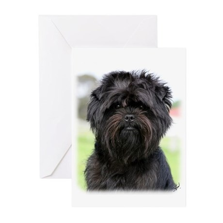 Affenpinscher 9Y516D-049 Greeting Cards (Pk of 20)