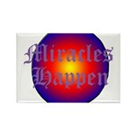MIRACLES HAPPEN III Rectangle Magnet (100 pack)